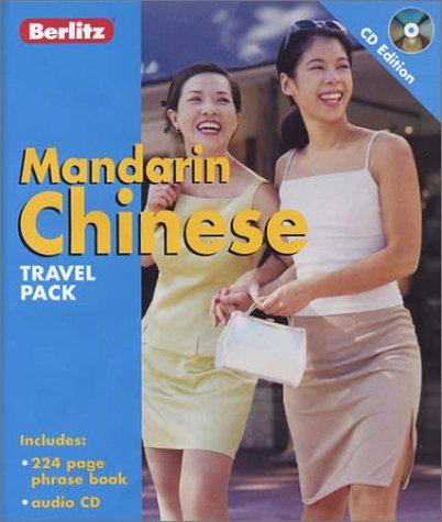 Berlitz Mandarin Chinese Travel Pack (Berlitz Travel Packs) (Audio CD)